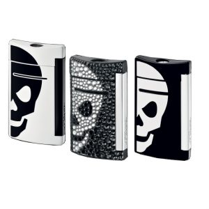 S.T Dupont Minijet Skull Lighter