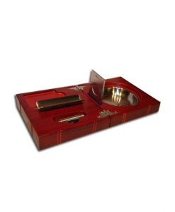 Portable Cigar Ashtray - Rosewood