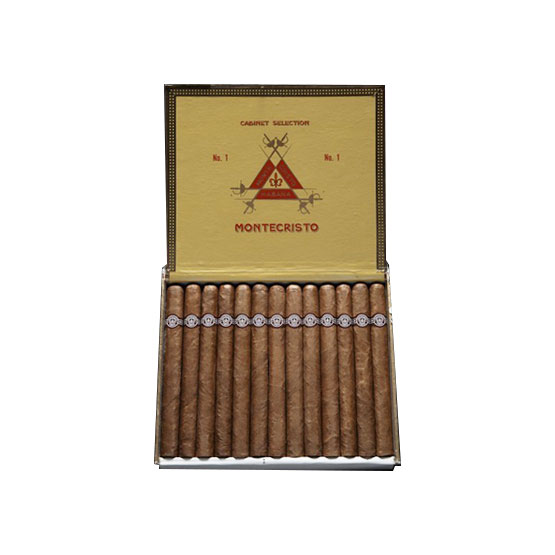 The Montecristo No.1 is elegant, refined, sophisticated...Wonderful evolvement staring light and developing to medium/full.
