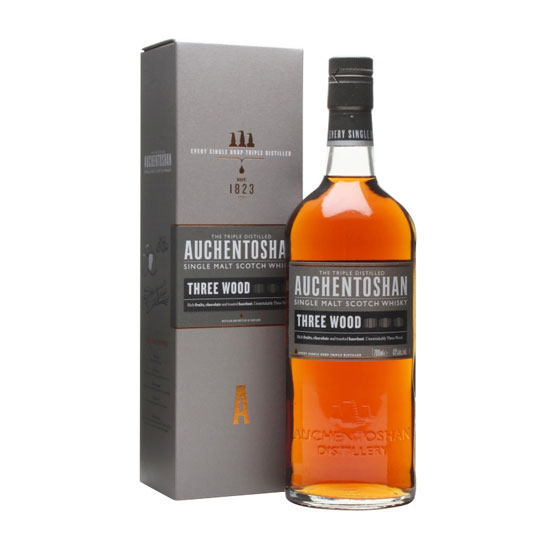 Auchentoshan Whisky Three Wood - Scotch Whisky