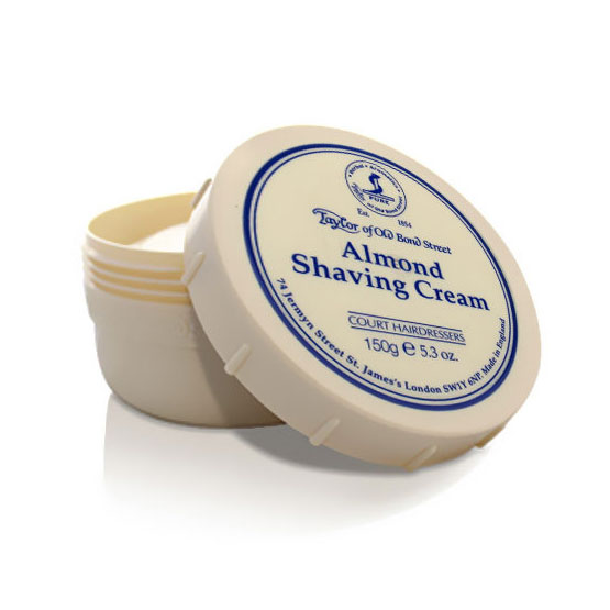 Taylor Almond Shaving Cream Bowl 150g