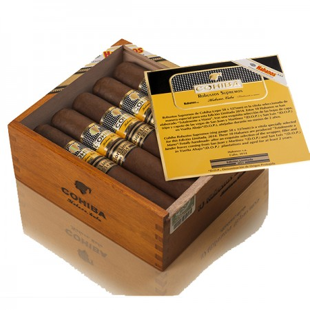 Cohiba Robusto Supremos (Limited Edition 2014) (2) copy