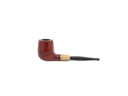 Dunhill Amber Root Pipe - Medium Saddle Billiard Pipe, 4103