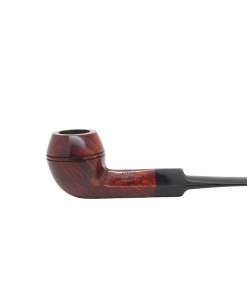 Dunhill Amber Root Pipe - Medium Saddle Bulldog Pipe, 3204