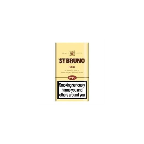 St Bruno Flake Pipe Tobacco 50g Pouch