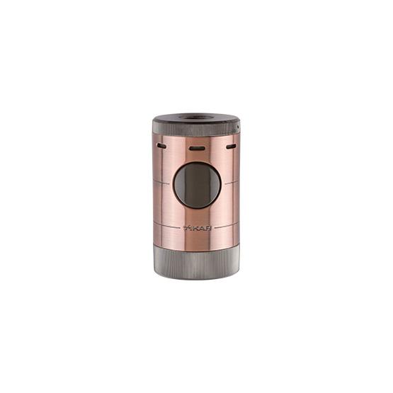 xikar-volta-quad-flame-tabletop-cigar-lighter-vintage-bronze-color