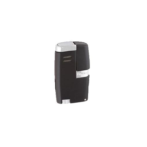 Xikar-Vitara-Double-Jet-Flame-Cigar-Lighter-Black