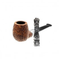 Dunhill White Spot Christmas Pipe 2015