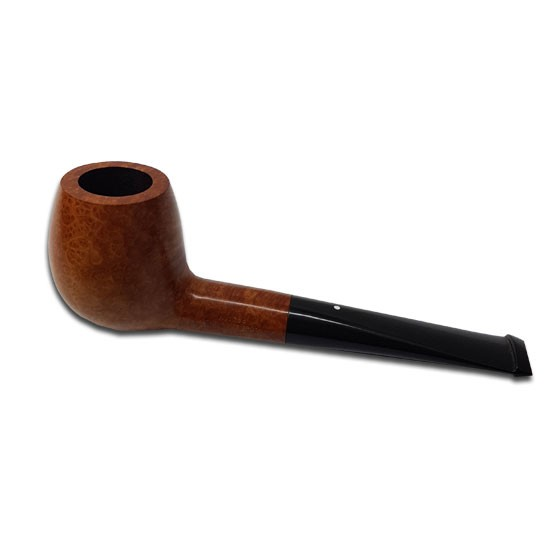 Dunhill Root Briar Pipe - Medium Straight Apple Pipe, 4101