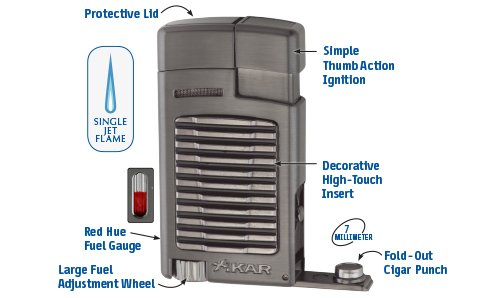 Xikar Forte Lighter