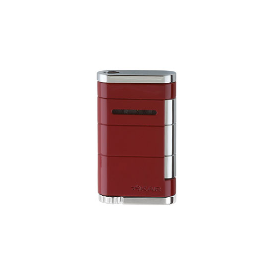 xikar-allume-single-jet-cigar-lighter-riot-red-colour