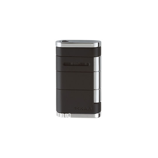 xikar-allume-single-jet-tuxedo-black-cigar-lighter