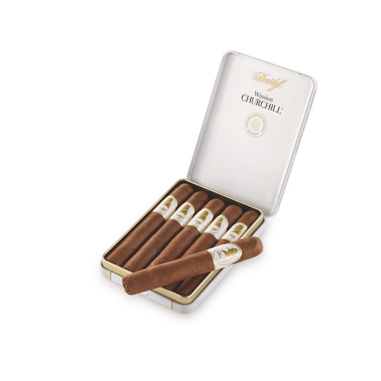 Davidoff Winston Churchill Petit Panetella - The Raconteur Cigar