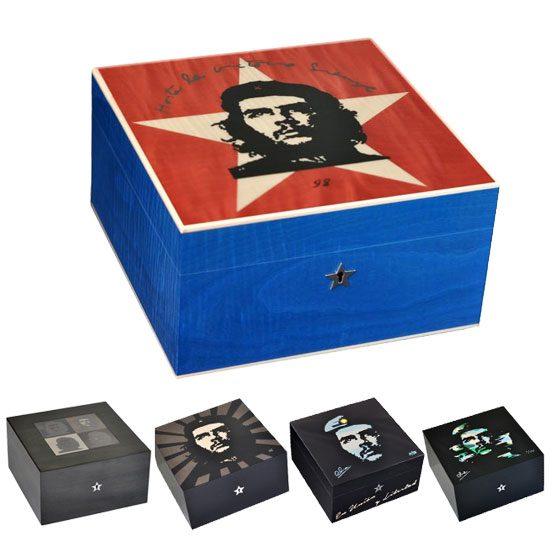 Elie Bleu Che guevara 75 Cigar Humidor