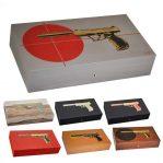 Elie Bleu Gun 110 Cigar Humidor