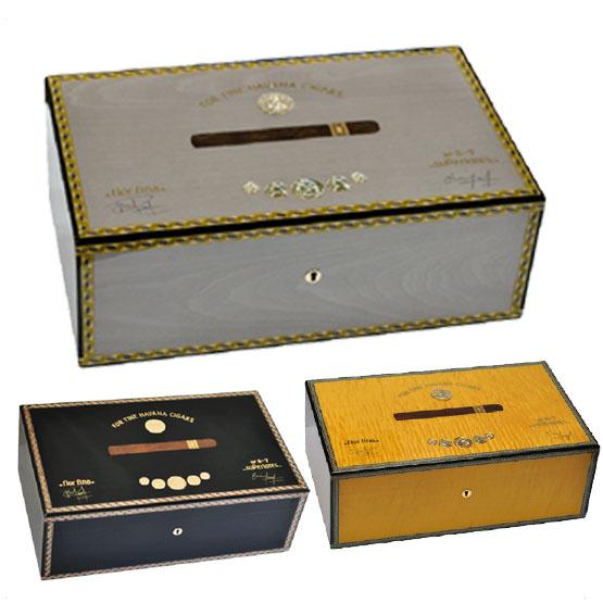Elie Bleu Medal 120 Cigar Humidor