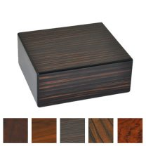Elie Bleu Natural Wood 50 Cigar Humidor