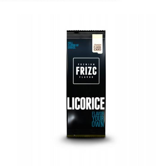 Frizc Liquorice Flavour Card
