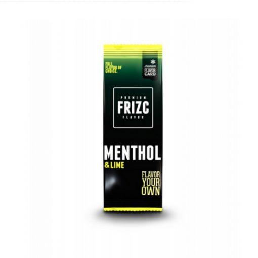 Frizc Lime Menthol Flavour Card
