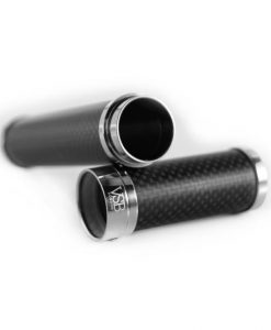 VSB Carbon Fibre Cigar Tube - Matt Stainless Steel