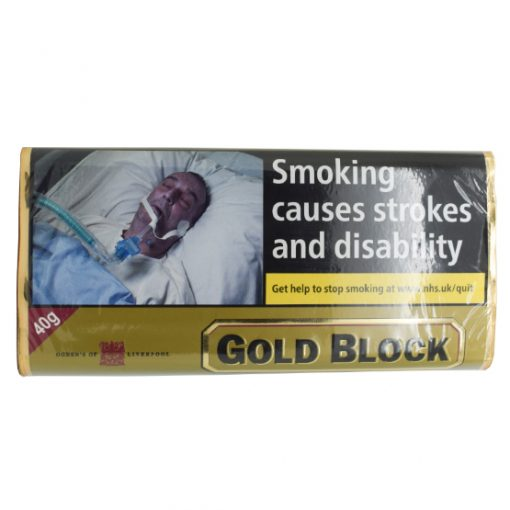 Ogdens Gold Block Pipe Tobacco 40g