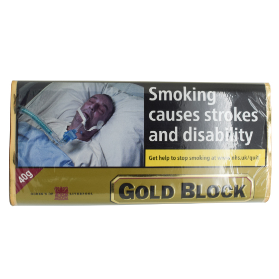 Ogdens Gold Block Pipe Tobacco 40g