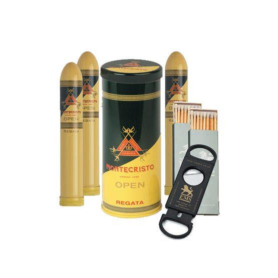 Montecristo Open Regata Tubos Gift Set