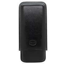 Jemar Black Leather Cigar Case