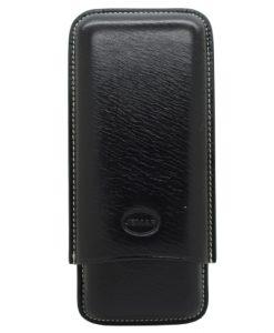 Jemar Black Leather Cigar Case