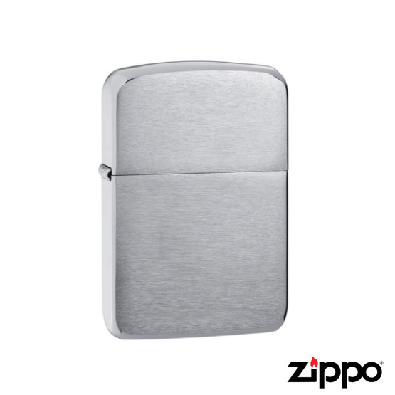 Zippo 1941 Brushed Chrome Replica Lighter