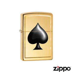 Zippo Brass Spade Lighter