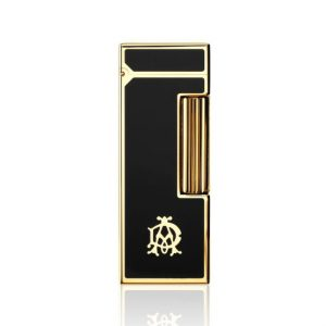 Dunhill Rollagas AD Logo Gold Plated Lighter