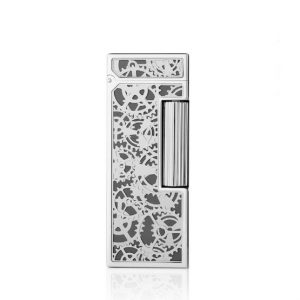 Dunhill Rollagas Skeleton Palladium Plated Lighter