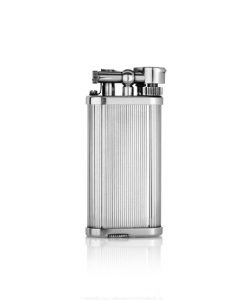 Dunhill Pocket Lines Silver Plated Lighter