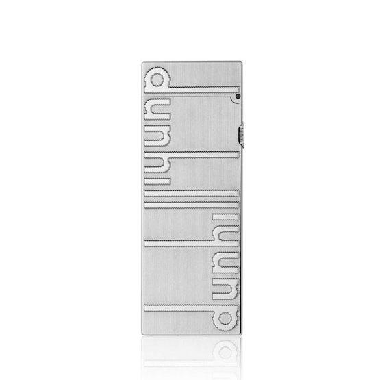 Dunhill Rollagas Signature Palladium Plated Lighter