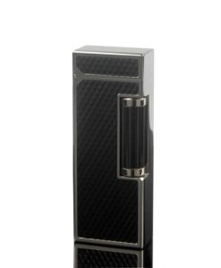 Dunhill Rollagas Diamond Pattern Black Resin Lighter