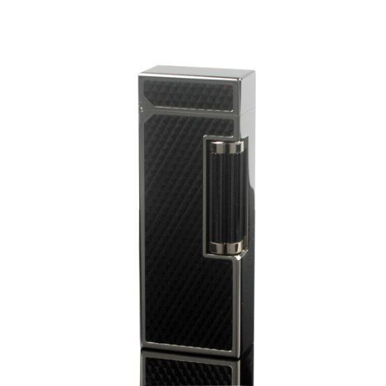 Dunhill Rollagas Diamond Pattern Black Resin Lighter