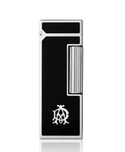 Dunhill Rollagas AD Logo Black Palladium Plated Lighter