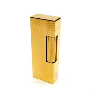 Dunhill Rollagas Barely Golden Plated Lighter