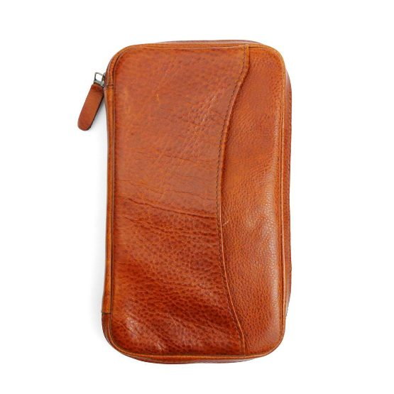 Peter James Chilli Leather Cigar Aficionado Case