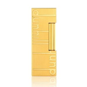 Dunhill Rollagas Signature Gold Plated Lighter