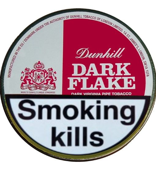 Dunhill-Dark-Flake-Pipe-Tobacco-50g-Tin