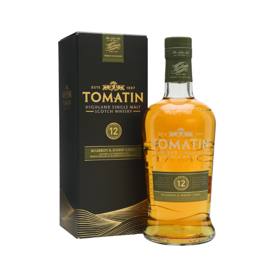 Tomatin 12 Year Old Bourbon & Sherry Whisky