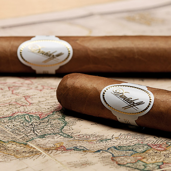 Two Davidoff cigars