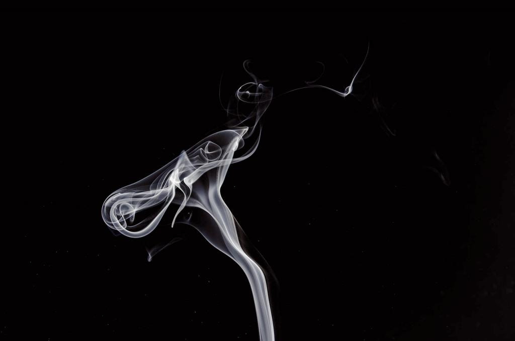 cigar smoke rising