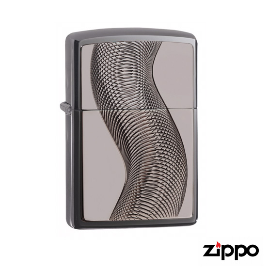 Zippo Coil Design Soft Flame Lighter details
