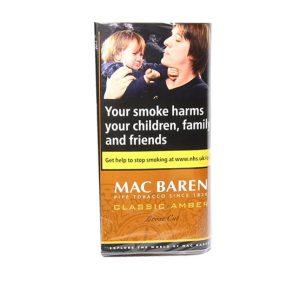 Mac Baren Classic Amber Loose Cut Pipe Tobacco 40g