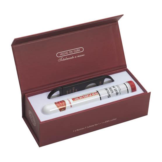 Romeo y Julieta Tubed No.1 and Cigar Cutter Gift Box