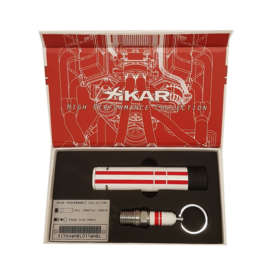 Xikar High Performance Cigar Lighter and Cigar Punch Gift Set