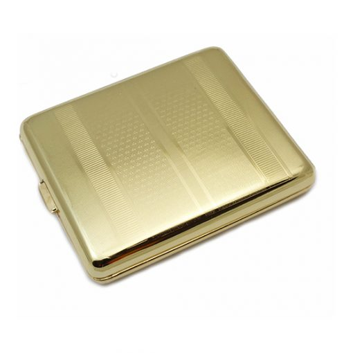 Cigarette Case Gold Coloured King Size